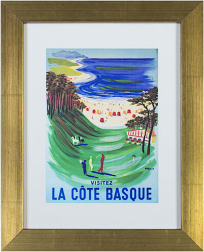 Bernard Villemot, 'La Cote Basque', 2012