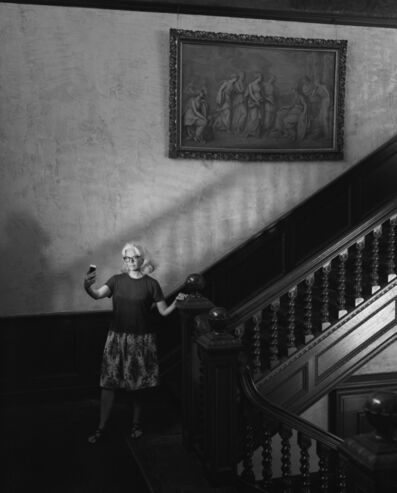 Regina DeLuise, 'Yanira in Stairway, Yaddo Saratoga Springs NY', 2018
