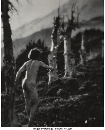 Imogen Cunningham, 'On Mount Rainier 3', 1915