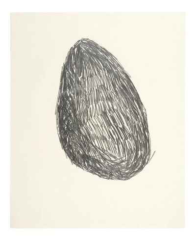 Nicholas Pope, 'Untitled (Drawing for Lump of Chalk)', 1979