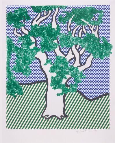 Roy Lichtenstein, 'Rain Forest (Corlett 278)', 1992