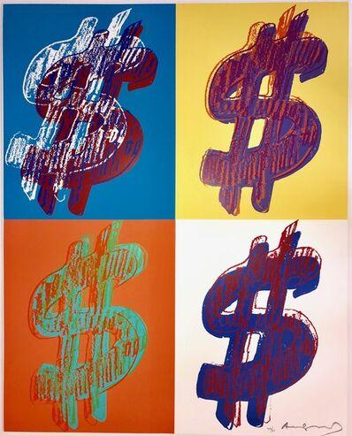 Andy Warhol, '$ Quadrant', 1982
