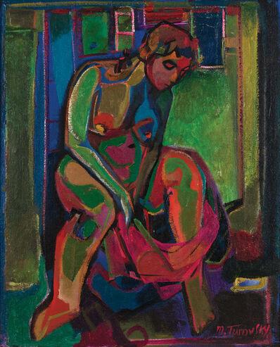 Mikhail Turovsky, 'Seated Nude', ca. 1994