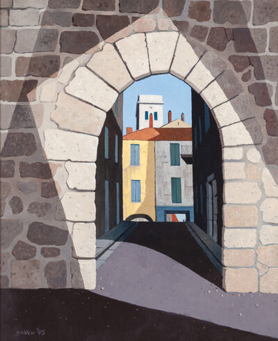 Rolland Golden, 'Medieval Entrance', 1995