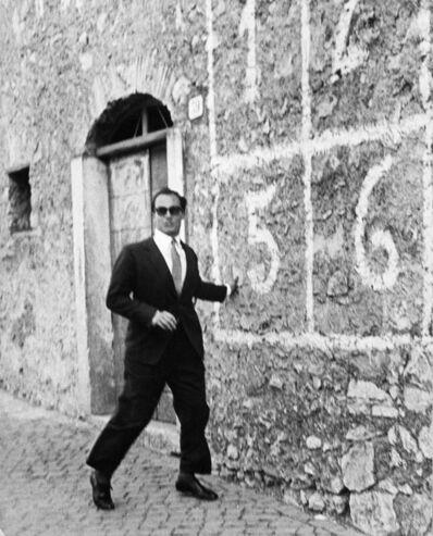 Elio Sorci, 'Aga Khan, Onassis e Rockefeller', ca. 1970