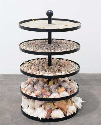 Nicole Wermers, 'Untitled Ashtray (shells)', 2018