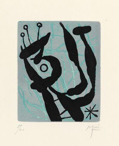 Joan Miró, 'Composition from the series Suite La Bague Aurore', 1957