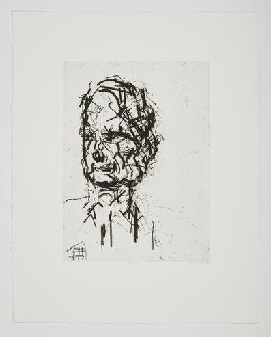 Frank Auerbach, 'David Landau', 2007