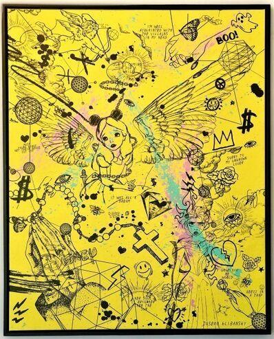 Joseph Klibansky, 'Villains in My Head (yellow)', 2019