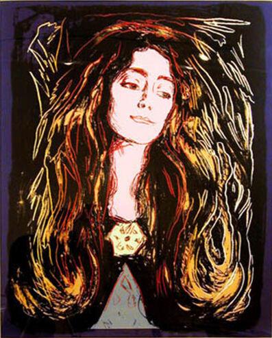 Andy Warhol, 'Eva Muducci (After Munch)', 1984