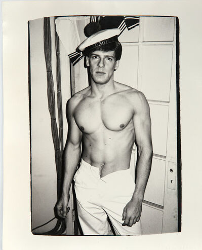 Andy Warhol, 'Andy Warhol, Photograph of Male Model, 1982', 1982