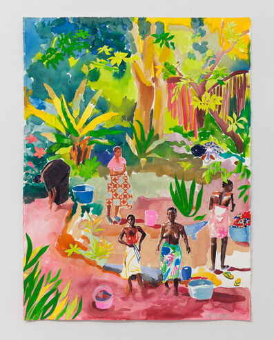 Alexandra Karamallis, 'Banana Tree Bathers', 2017