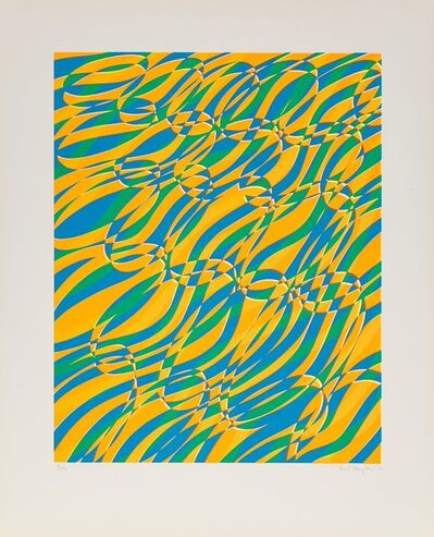 Stanley William Hayter, 'Untitled 1, from the Aquarius Suite', 1970