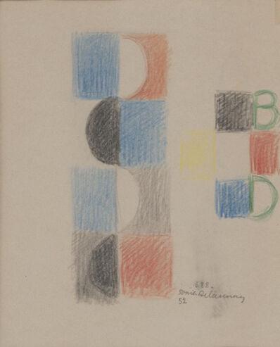 Sonia Delaunay, 'Projet pour livre d'enfant - Rythme sans fin', 1952