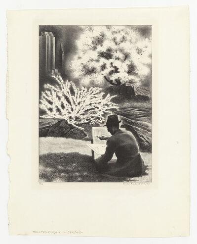 Louis Lozowick, 'Self-portrait is Spring', 1943