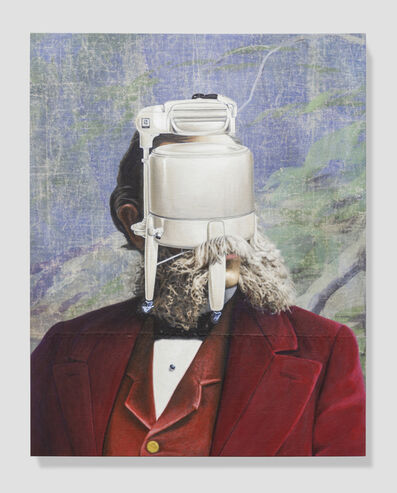 Jim Shaw, 'Official Portrait (Washing Machine)', 2019