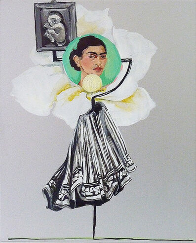 Natalie Sirett, 'New Icons Frida Kahlo', 2019