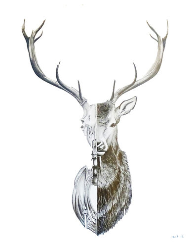 David Da Costa, 'The deer, because death is part of life.', 2018