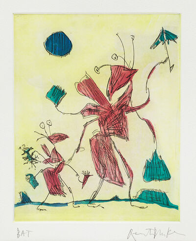 Quentin Blake, 'Insects VI', 2012