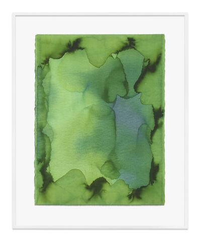 Jason Martin, 'Untitled (Heliogen green)', 2020