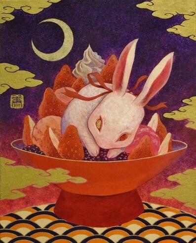 Koki Tsujimoto, 'Kiicho white rabbit strawberry sweets', 2017