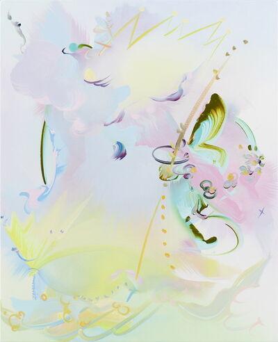 Fiona Rae, 'Hears a mermaid', 2018