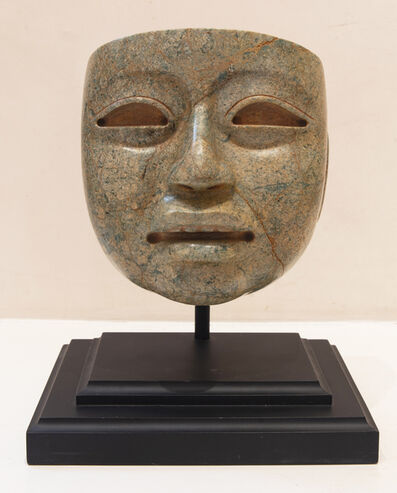 Olmec Culture, 'Head of a Dignitary', 1200 BCE-600 BCE