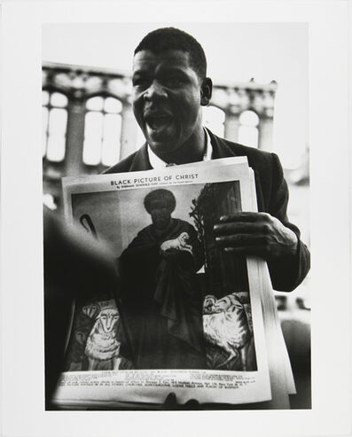 Gordon Parks, 'Soapbox Orator, Harlem, New York', 1952