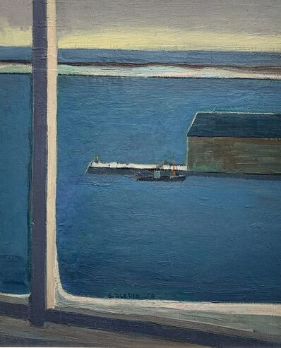 Salvatore Del Deo, 'Pier From A Window', 1959