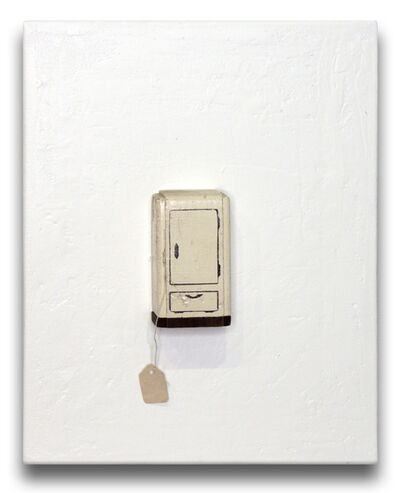 Liliana Porter, 'For Sale (White Refrigerator)', 2017