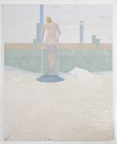 Michael Meehan, 'Ice Bather; Tentative Step', 2015