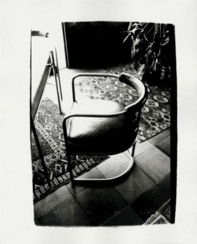 Andy Warhol, 'Leather chair', 1980