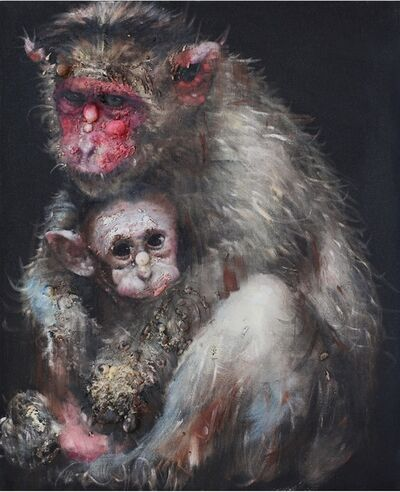 Li Tianbing, 'Lonely Monkey #5', 2014