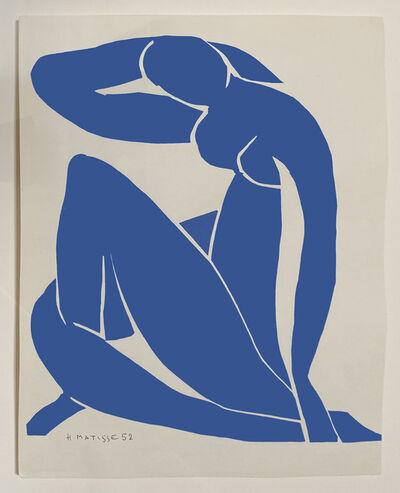 Henri Matisse, 'Nue Bleu II (Seated Blue Nude)', 1952