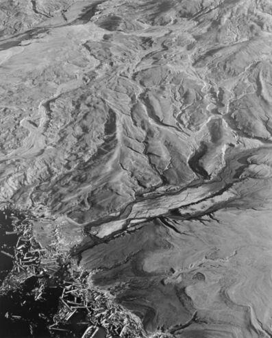 Frank Gohlke, 'Aerial view: landslide- debris flow and edge of Spirit Lake- 4 miles NE of Mt. St. Helens, Wash., 1983', 1983