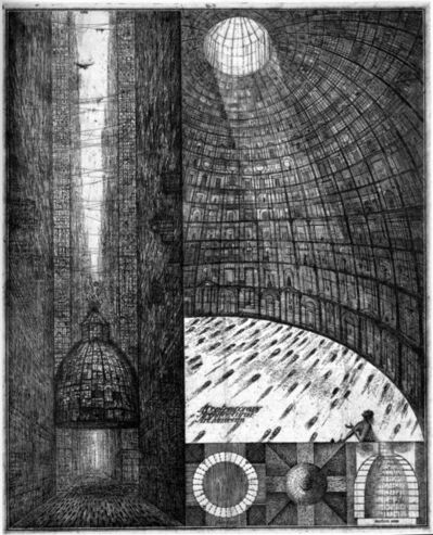 Brodsky & Utkin, 'Contemporary Architectural Art Museum', 1989/1990