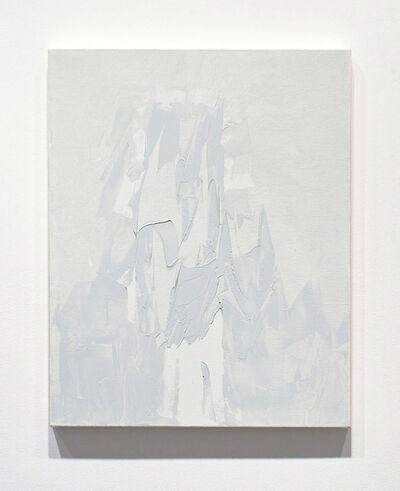 Michael Brennan, 'Grey Razor Painting (Ice, Cloud, Mountain, #3)', 2013
