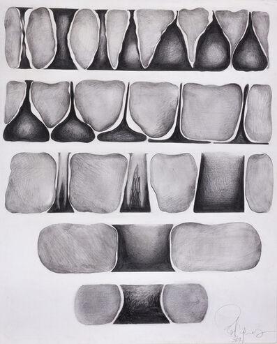 Susana Rodríguez, 'Escritura sobre blanco y negro', 1979