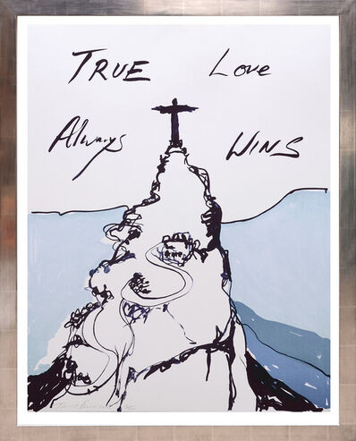 Tracey Emin, 'True Love Always Wins.', 2016