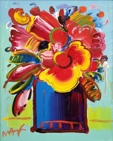 Peter Max, 'Abstract Flowers ', 2012