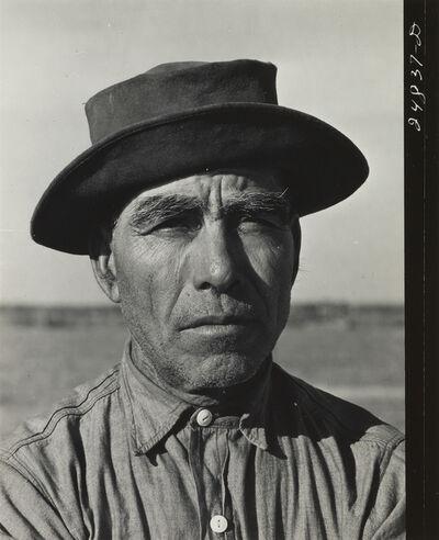 Arthur Rothstein, 'Man in hat', ca. 1940