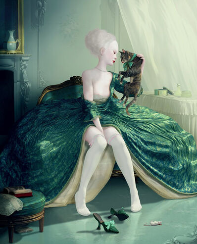 Ray Caesar, 'French Kiss', 2012