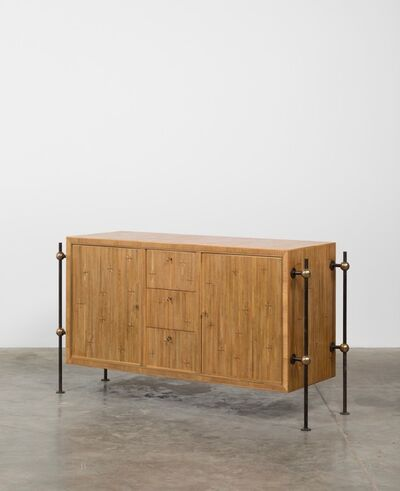 Jean Royère, 'Straw marquetry sideboard', ca. 1955