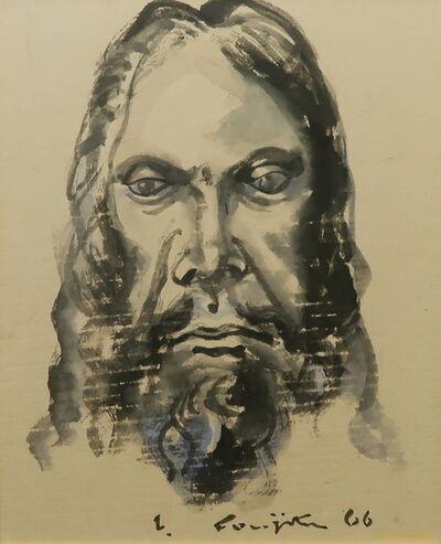 Léonard Tsugouharu Foujita, 'Christ', 1966