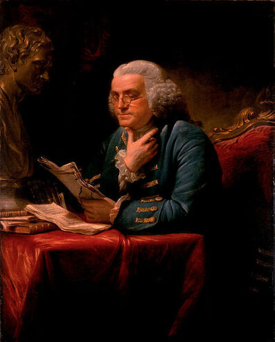 David Martin, 'Benjamin Franklin', 1767
