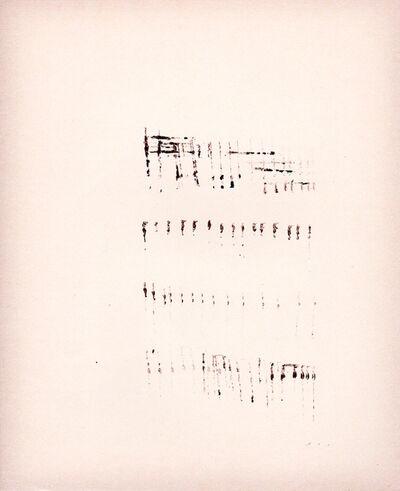 Mirtha Dermisache, 'Processing Mirtha Dermisache's 'Texto'', 1970/2017