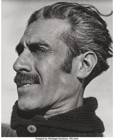 Edward Weston, 'Manuel Galvan, Mexico', 1924