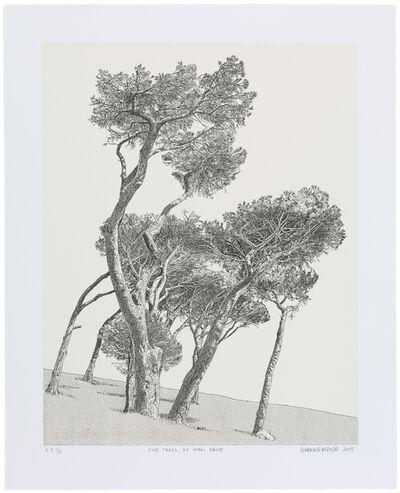 Anton Kannemeyer, 'Pine Trees, De Waal Drive', 2015