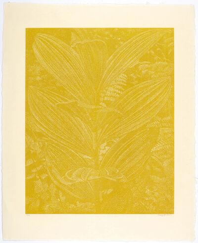 Franz Gertsch, 'Gelber Enzian (gelb.)', 2003