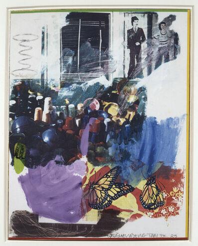 Robert Rauschenberg, 'Thai IX', 1983
